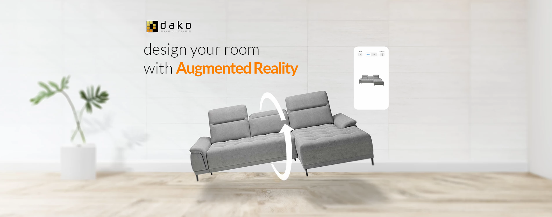 design your room with Augumented Reality