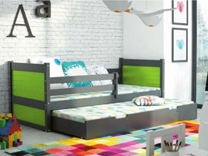 Kids Bed RICO 2 Trundle Bed