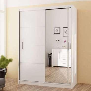 Sliding Door Wardrobe VISTA 150 White