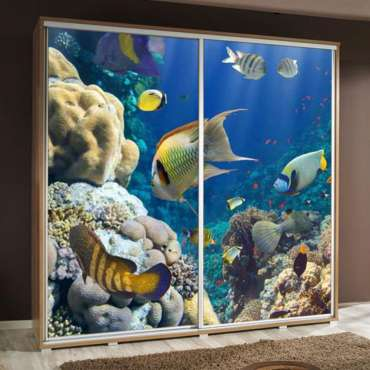 Wardrobe PENELOPA 205 Aquarium 2