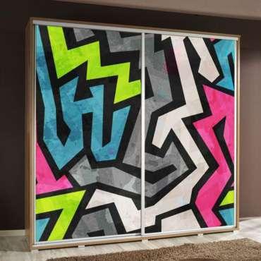 Wardrobe PENELOPA 205 Graffiti