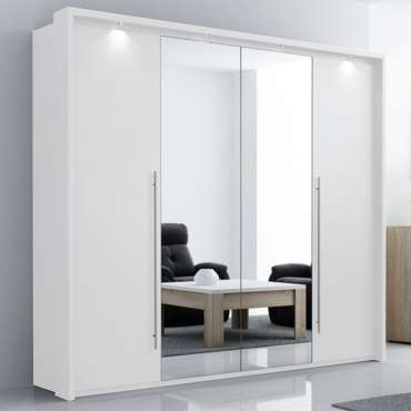 Wardrobe BREMA White