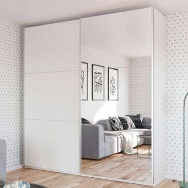 Sliding Door Wardrobe RODOS 225 White