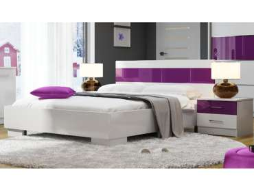 Bed DUBAJ Purple