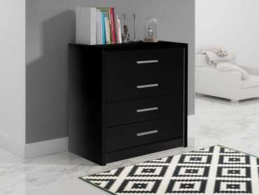 Chest of Drawers GENEWA 1 Black