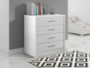 Chest of Drawers GENEWA 1 White