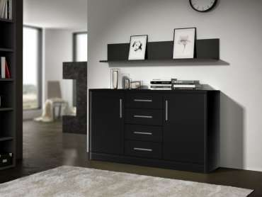 Sideboard GENEWA 2 Black