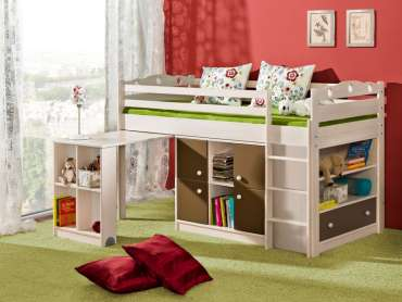 Kids Bed KAMIL High Sleeper