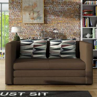 Sofa Bed Nora Brown Special Offer