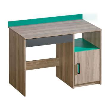 Desk ULTIMO U8-Dark Ash Coimbra / Green