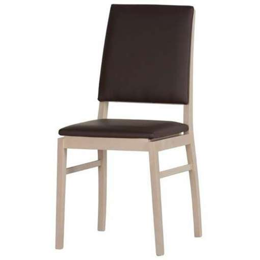Dining Chair with Faux Leather DESJO 101