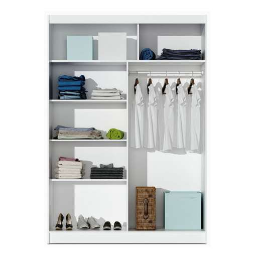 Wardrobe VISTA 180 White