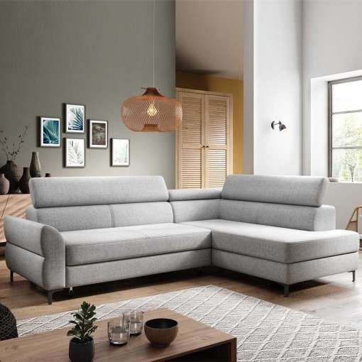 Corner Sofa Bed REMO-Right