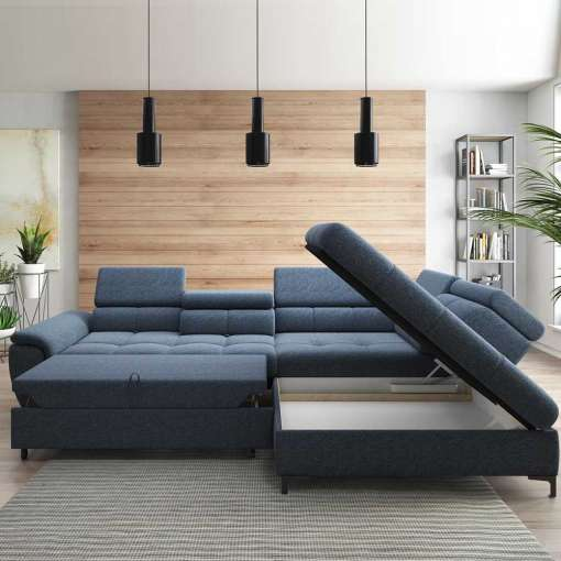 Corner Sofa Bed DENVO-Right