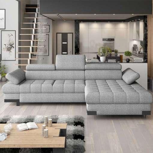 Corner Sofa Bed SELVA MINI-Right