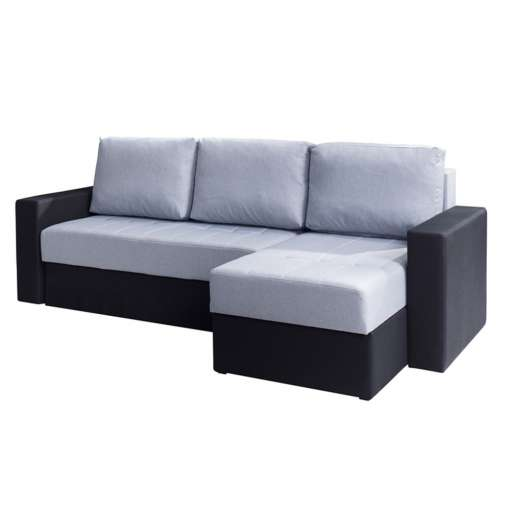 Corner Sofa Bed CALABRINI Grey