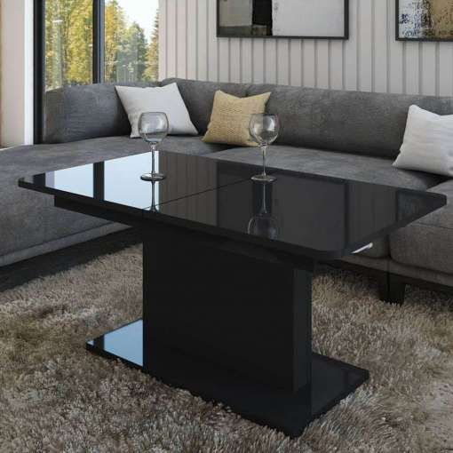 Coffe/Table OPTI Black Gloss