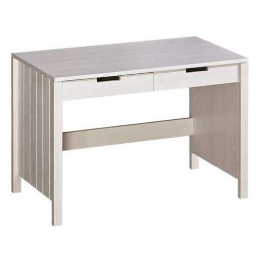 Wooden Computer Desk TOMI TO6-White Pine