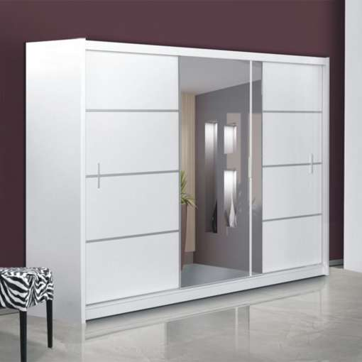 Wardrobe VISTA 250 White
