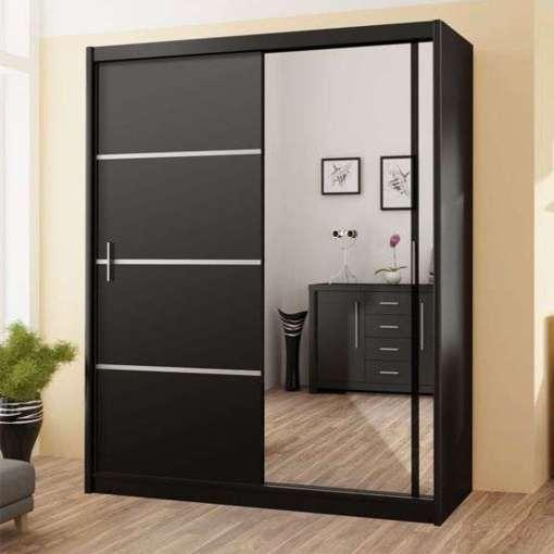 Wardrobe VISTA 180 Black