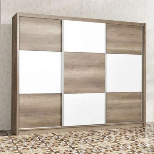 Wardrobe CORDOBA Oak Canyon / White