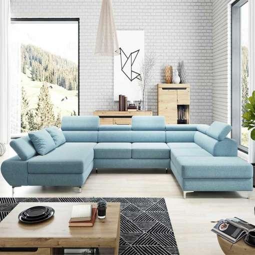 Corner Sofa Bed FLAME XL