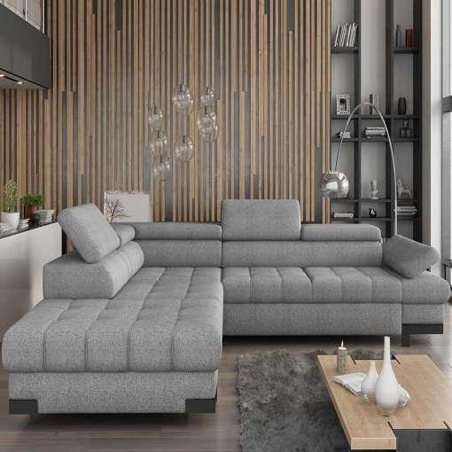 Corner Sofa Bed SELVA L Left Special Offer