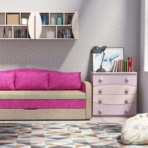 Kids / Youth Furniture Set TENUS 6 Heather
