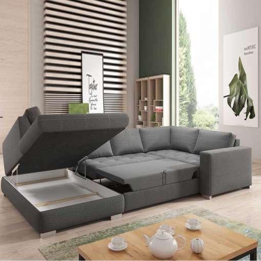 Corner Sofa Bed BOSTON