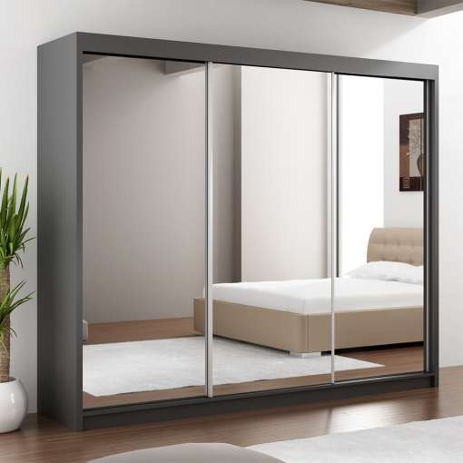 Wardrobe PARIS LUX 250 Graphite