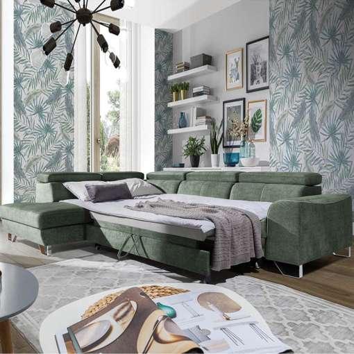 Corner Sofa Bed AUSTINO 2