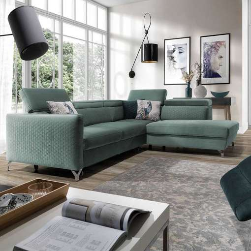Corner Sofa Bed MANAMO Right Special Offer