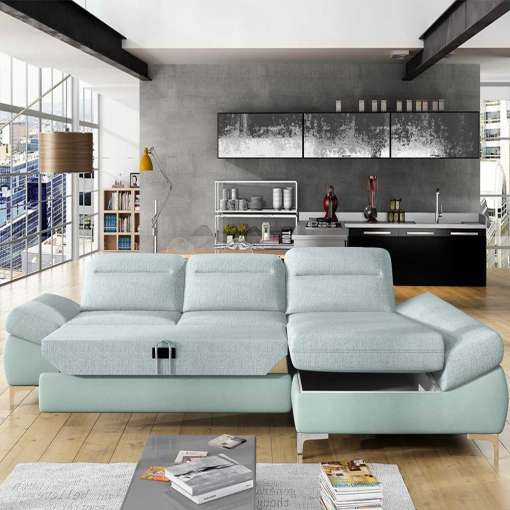 Corner Sofa Bed TIMOLA MINI