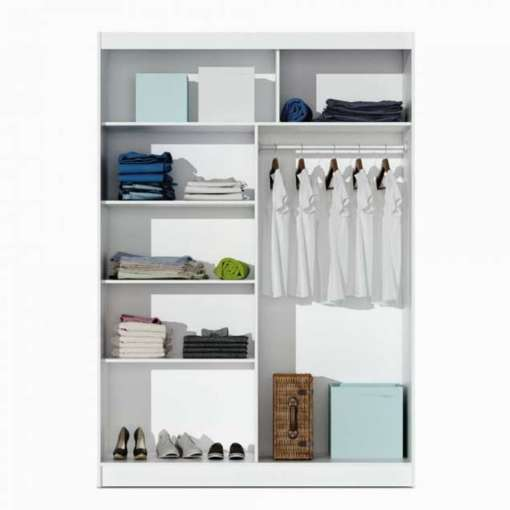 Wardrobe PARIS 150 White