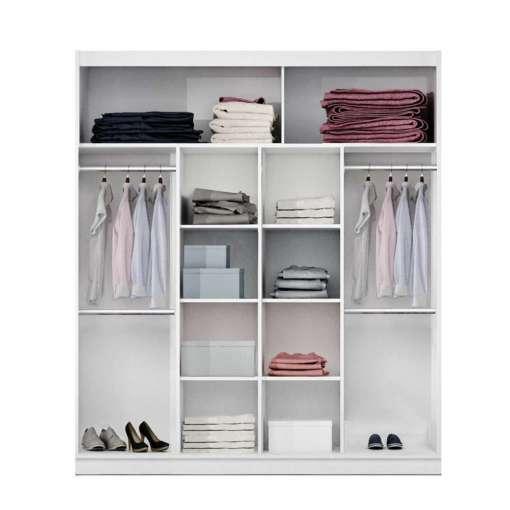 Wardrobe PARIS 203 White