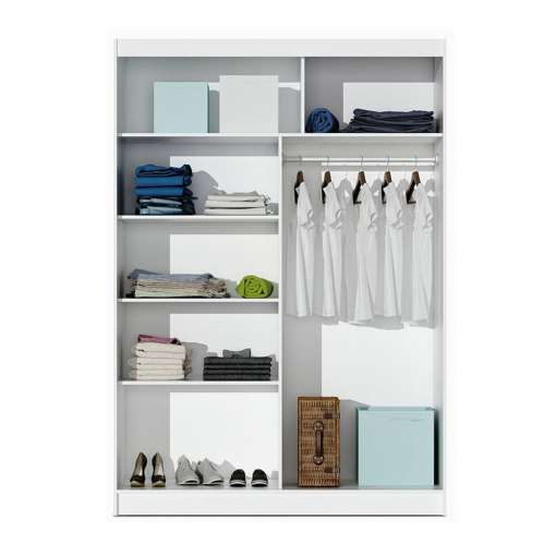 Wardrobe VISTA 150 White