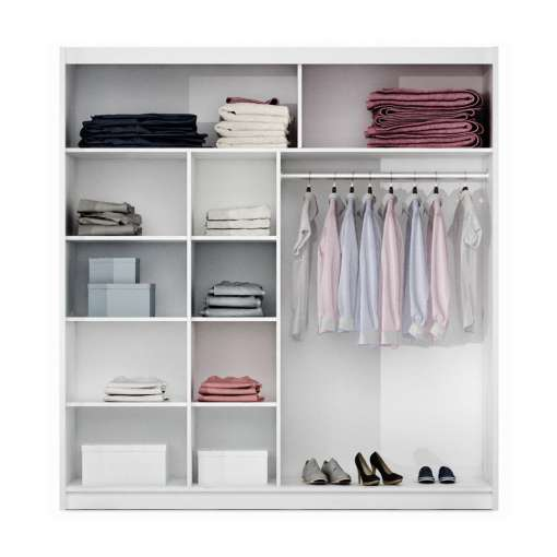Wardrobe VISTA 203 White