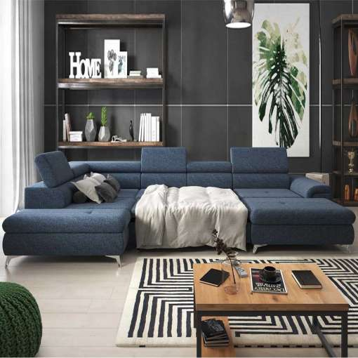 Corner Sofa Bed MONK XL