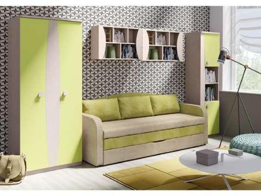 Kids / Youth Furniture Set TENUS 3 Green