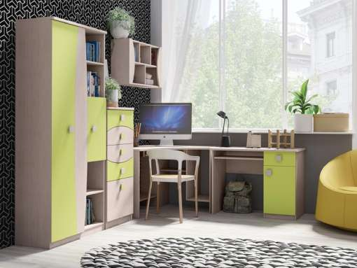 Kids / Youth Furniture Set TENUS 4 Green