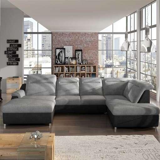 Corner Sofa Bed MONERO XL