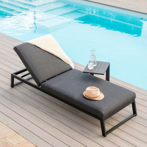 Allure Lounger - Charcoal