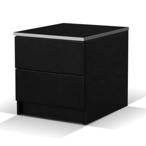 Bedside Table VISTA Black