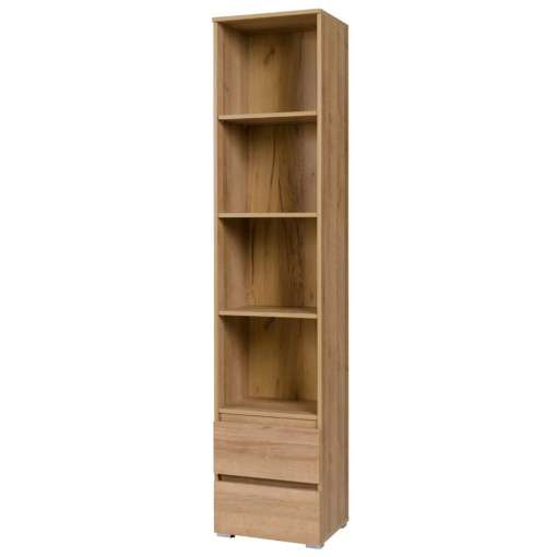 Narrow bookcase COSMO C01