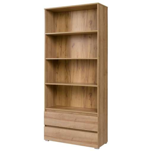 Wide bookcase COSMO C03