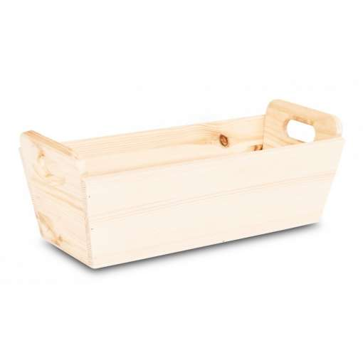 Wooden Planter with Handles