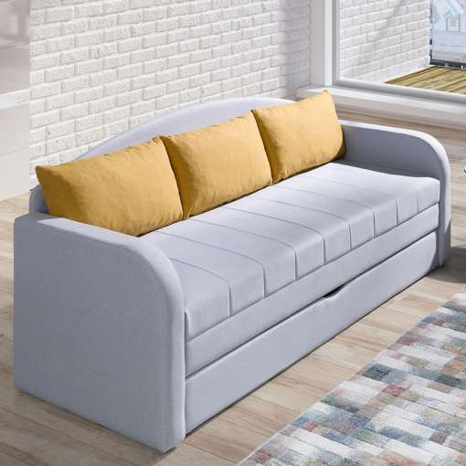 Sofabed TEBOS II Yellow