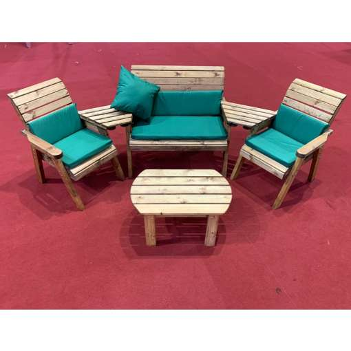 Four seater multi set with table