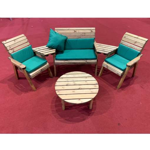 Four seater multi set with round table