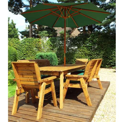 Eight seater garden table set